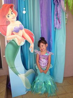 Ariel - The Little Mermaid Birthday Party Ideas | Photo 1 of 11 | Catch My Party