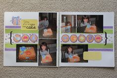 Birthday pages