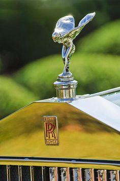 1930 Rolls-royce Phantom I Transformal Phaeton Hood Ornament by Jill Reger