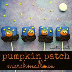 Sugartown Sweets: Pumpkin Patch Marshmallows
