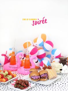 end of summer soiree party idea