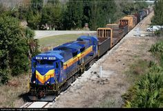 RailPictures.Net Photo: SGLR 590 Seminole Gulf GE B39-8E (Dash 8-39BE) at Punta Gorda, Florida by Kevin Andrusia