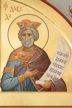 King David, Orthodox Icons, Saints, Writing, Byzantine Icons, Being A Writer