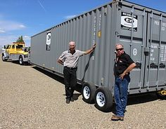 Local inventors prepare to launch their product for towing storage containers (VIDEO) | The Daily Courier | Prescott, AZ