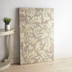 Create the ambience of confident elegance with our wall panel. In a versatile size and muted tones, this intricate acanthus pattern is at once understated and sophisticated.