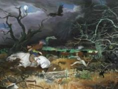 Tam O Shanter book with illustrations by Alexander Goudie