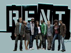 Cast of Rent movie - rent Wallpaper