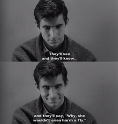 Psycho (1960) Great scene. Great acting. Great movie.