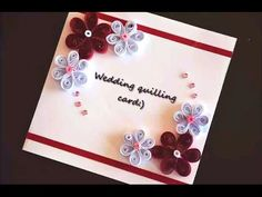 Paper Quilling Card - For beginners - DIY Crafts Tutorials - Giulia's Art