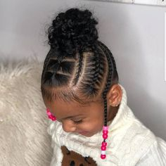 Toddler Hair Unglaubliche Kinderfrisuren Women's Fashion Footwear: 9 Shoes You Must Have If you're l Black Kids Hairstyles, Baby Girl Hairstyles, Natural Hairstyles For Kids, Kids Braided Hairstyles, African Braids Hairstyles, Short Hairstyles, Layered Hairstyles, Kids Natural Hair, Toddler Braided Hairstyles
