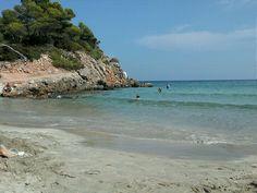 Cala Nova en Santa Eulalia del Río, Islas Baleares