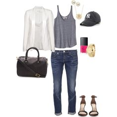 """""""Yankee Love!"""" by angela-reiss on Polyvore"""