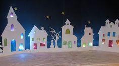 Village illuminé