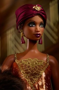 Check out Madam LaVinia Barbie Doll at the official Barbie website. Explore all Barbie dolls and accessories now! Barbie Blog, Barbie Website, African American Beauty, African American Dolls, African Dolls, Barbie Fashion Royalty, Fashion Dolls, Diva Dolls, Beautiful Barbie Dolls