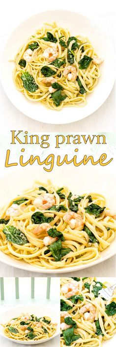 This beautifully light and refreshing dinner always goes down a storm in our house. The white wine sauce is addictive, I like to drown the pasta in the stuff.