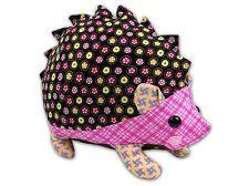 Hannah Hedgehog Softie Toy Cute Boys Girl - Sewing PATTERN - Fabrics4u2 - NEW