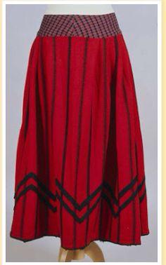 Skirts from folk costume blogspot.com