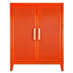 TOLIX PERFORATED DOUBLE DOOR B2 CABINET