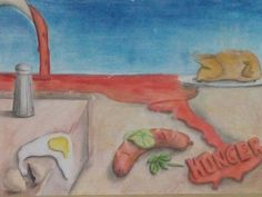 Persistência da fome (paródia Dali ;))/ La persistencia del hambre (parodia Dali)/Persistence of hunger (parody Dali)