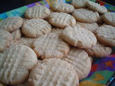 Hojarascas. We had these as wedding favors (they already came heart-shaped!) and I will be eating approximately 58 when I am in Chicago.  Use Google Translate for the recipe. Or ask me. :) Everyone should try these almost flaky and somewhat chewy treats.