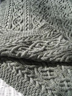 Cable-Knit is my favourite and there should be plenty of afghans available for colder months.
