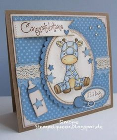 Sweet November Safari Pals by StempelQueen - Cards and Paper Crafts at Splitcoaststampers
