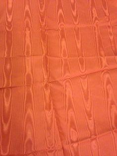 "Burnt Orange Plastic Fabric Piece Remnant 21""X20"" by MacraStar on Etsy"