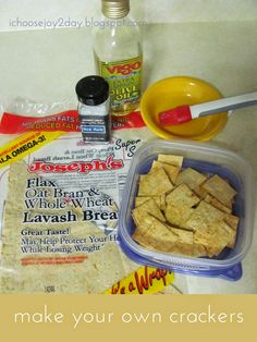 So Simple Snacks: Make Your Own Crackers