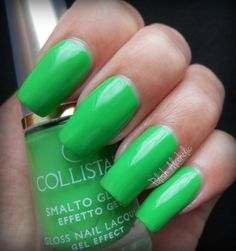 Collistar Gloss Nail Gel Effect no 534 Dynamic Green