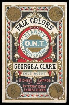 George A. Clark / Fall Colors | Sheaff : ephemera