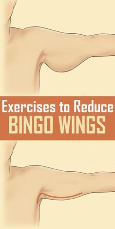 Simple Exercises to Reduce Bingo Wings..