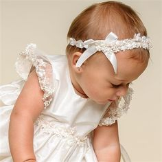 Leila Silk Christening Gown (Girl) | Baptism Outfits & Dresses - Designer Gowns & Dresses