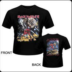 Camiseta de chico M/C  IRON MAIDEN - The Number of the Beast