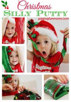 Christmas Silly Putty :http://pagingfunmums.com/2014/11/05/christmas-themed-silly-putty/