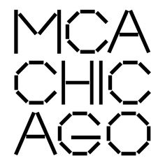 New Logo and Identity for Museum of Contemporary Art Chicago by Mevis & Van Deursen