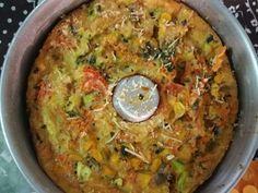 Imagem da receita Ometele light de forno com abobrinha - Bavaresco