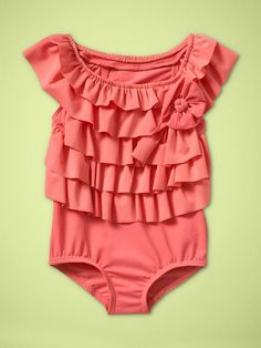 Cute swim suit! ~ I almost BOUGHT THIS for Cheyanne.