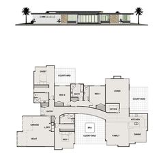 Lamont - Penny Homes New House Plans, Modern House Plans, Modern House Design, House Floor Plans, Grant House, Home Design Floor Plans, Modern Contemporary Homes, Storey Homes, House Blueprints