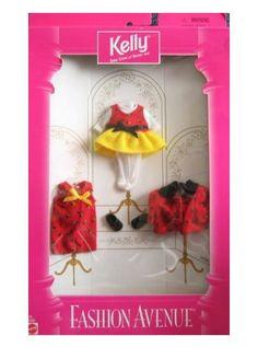 Mattel Barbie KELLY LADY BUG Fashion Avenue Clothes - 3 Fashions Set (1997)