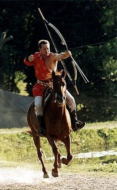 Mounted archery - Wikipedia, the free encyclopedia