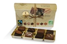 Chocolate box assortment of chocolates Bio-Max Havelaar   #French Chocolate