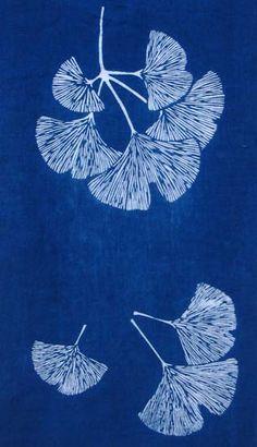 Nautilus Fiberarts | Fabrics PP18. GINKGOS