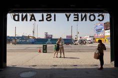 Coney Island Engagement Photo Shoot