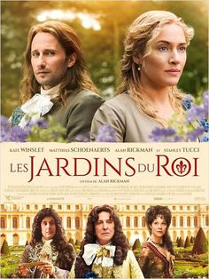 "Gardening ideas from ""Les Jardins du Roi"" (A Little Chaos / Le regole del caos) by Alan Rickman"