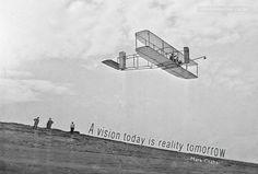 """A vision today is reality tomorrow"" - Mark Csabai"
