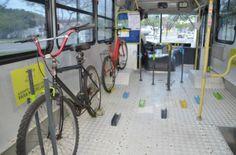 Na segunda-feira, 18, começaram a operar ônibus adaptados para bicicletas no trecho Vitório e Vila Velha, Espirito Santo. O trajeto liga as duas cidades pela Terceira Ponte, que não possuí ciclovias.