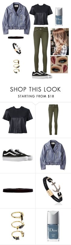 """Dance Performance In ""Hit The Stage"""" by fivesoslol ❤ liked on Polyvore featuring Alex Perry, rag & bone/JEAN, Vans, Acne Studios, Steve Madden, Noir Jewelry and Christian Dior"