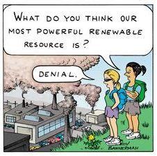 We'll always have denial...