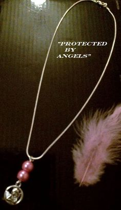 """I'm selling """"PROTECTED BY ANGELS"""" A LITTLE ANGEL TO KEEP YOU SAFE NECKLACE. - £4.99 #onselz"""
