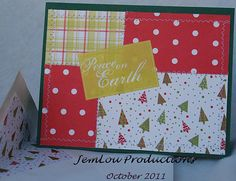 Peace on Earth Card Christmas Card by JemLouProductions on Etsy, $3.00
